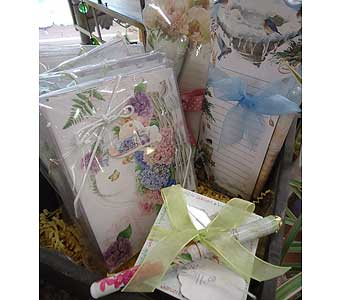 Notepads and more! in Saratoga Springs NY, Dehn's Flowers & Greenhouses, Inc