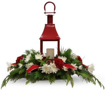 Yuletide Lantern in Franklin IN, Bud and Bloom Florist