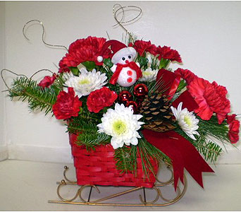 Here Comes Santa's Sleigh in Falmouth MA, Falmouth Florist 508-540-2020