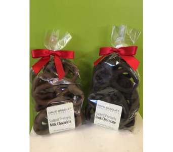 David Bradley Chocolate Covered Pretzels in Jamesburg NJ, Sweet William & Thyme