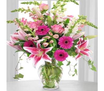 Pink Perfection in Indianapolis IN, George Thomas Florist