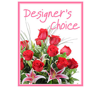 Designer's Choice - Valentine's Day in Bowling Green OH, Klotz Floral Design & Garden