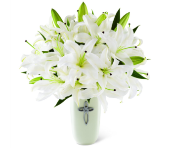 Faithful Blessings Bouquet in Norristown PA, Plaza Flowers