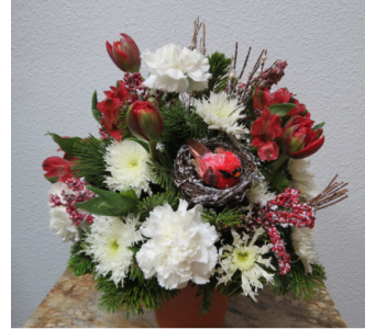 Winter Waltz in Arcata CA, Country Living Florist & Fine Gifts