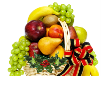 Holiday Fruit Basket in Upland CA, Suzann's Flowers