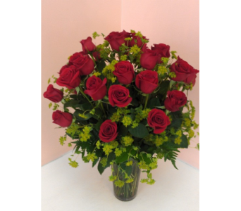 Twenty-Four Red Roses in San Francisco CA, Fillmore Florist