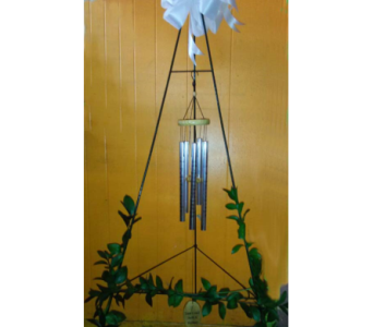 Standing Wind Chime in Ft. Lauderdale FL, Jim Threlkel Florist