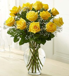 Premium Long Stem Yellow Roses in Camp Hill and Harrisburg PA, Pealers Flowers
