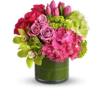 GARDEN OF LOVE bouquet  in Bellevue WA, CITY FLOWERS, INC.