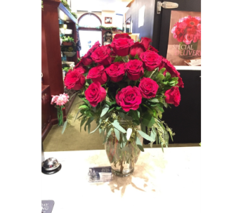 Forever Loved 30 Roses in Princeton, Plainsboro, & Trenton NJ, Monday Morning Flower and Balloon Co.