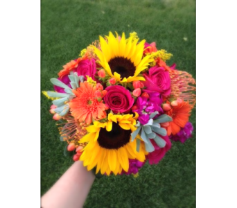 Color of Summer Bouquet in Lakewood CO, Petals Floral & Gifts