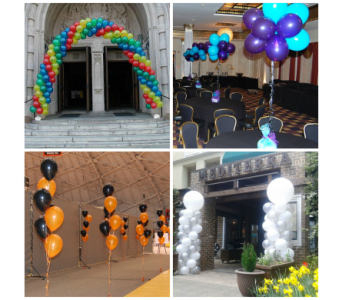 Balloon Decorations in Princeton, Plainsboro, & Trenton NJ, Monday Morning Flower and Balloon Co.