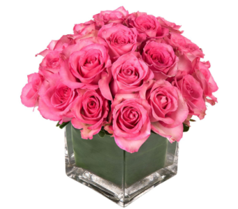 pink passion bouquet  in Bellevue WA, CITY FLOWERS, INC.