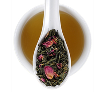 Cherry Rose Green Tea in Reno NV, Bumblebee Blooms Flower Boutique