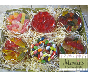 Fruity Candy Sampler in Methuen MA, Martins Flowers & Gifts