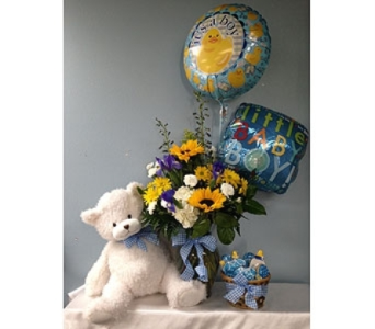 Baby Boy Bundle-Deluxe in Portland OR, Portland Florist Shop