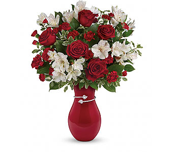 Teleflora's Pair Of Hearts Bouquet in Palm Springs CA, Palm Springs Florist, Inc.