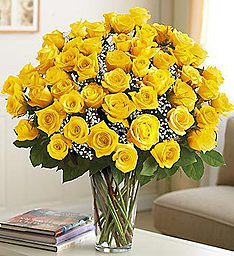 Ultimate Elegance� Long Stem Yellow Roses in Jupiter FL, Anna Flowers