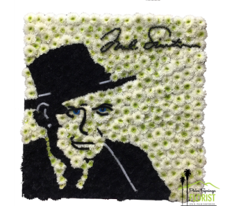 Frank Sinatra in Palm Springs CA, Palm Springs Florist, Inc.