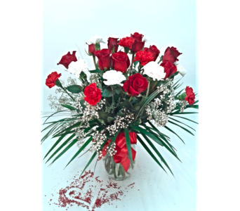 Roses & Carns by the dozen! in Alliston, New Tecumseth ON, Bern's Flowers & Gifts