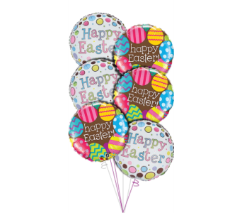 Easter Balloon Bouquet and Candy in Princeton, Plainsboro, & Trenton NJ, Monday Morning Flower and Balloon Co.