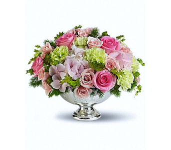 Rhapsody Garden Centerpiece in Princeton, Plainsboro, & Trenton NJ, Monday Morning Flower and Balloon Co.