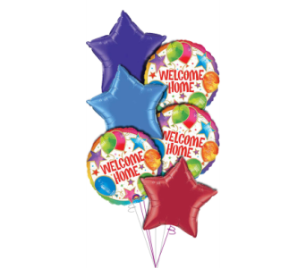 Welcome Home Balloon Bouquet in Princeton, Plainsboro, & Trenton NJ, Monday Morning Flower and Balloon Co.