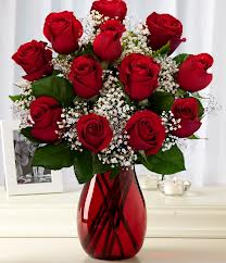 Romantic Red Roses in Skowhegan ME, Boynton's Greenhouses, Inc.