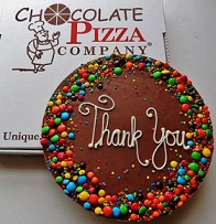Thank You Chocolate Pizza in Perrysburg & Toledo OH - Ann Arbor MI OH, Ken's Flower Shops