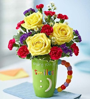 Sending Big Smiles Mugable in Camp Hill and Harrisburg PA, Pealer's Flowers