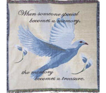 Dove Inspirational Throw in Indianapolis IN, George Thomas Florist
