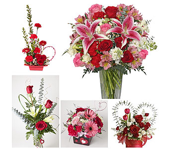 Designers Choice - Valentine Mix in Harrisonburg VA, Blakemore's Flowers, LLC