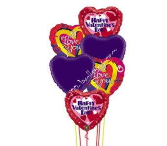 Happy Valentine's & I Love You Balloons by 1-800-balloons