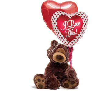 Medium I Love You Bear in 1-800 Balloons NV, 1-800 Balloons