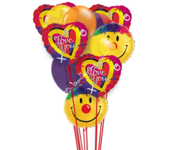 Love And Smiles Balloons in 1-800 Balloons NV, 1-800 Balloons