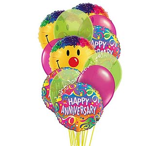 Anniversary Smiles Balloons by 1-800-balloons