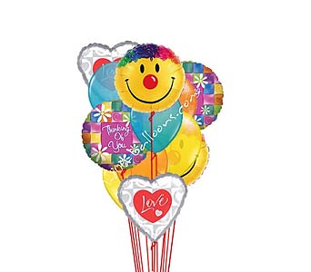 Smiles Love Thinking Of You Balloons in 1-800 Balloons NV, 1-800 Balloons