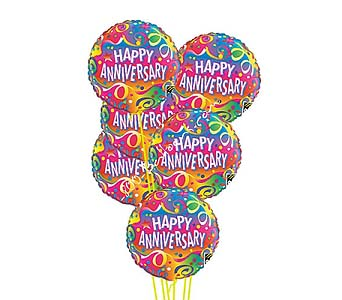 Happy Anniversary Balloons by 1-800-balloons