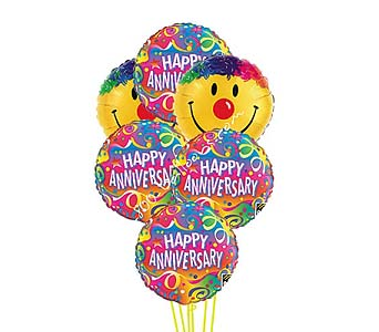 Anniversary Smile Balloons by 1-800-balloons