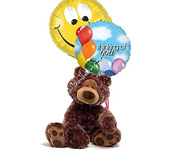 Medium Thinking Of You Bear by 1-800-balloons