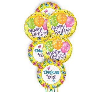 Happy Birthday Thoughts Balloons by 1-800-balloons