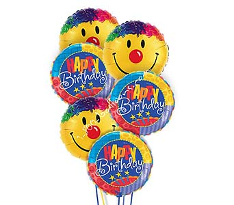 Happy Birthday Smiles Balloons by 1-800-balloons