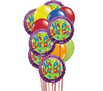 Rainbow Day Balloons by 1-800-balloons