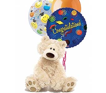Medium Congratulations Bear 1 by 1-800-balloons