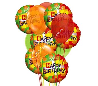 Happy Happy Birthday Delight Balloons by 1-800-balloons