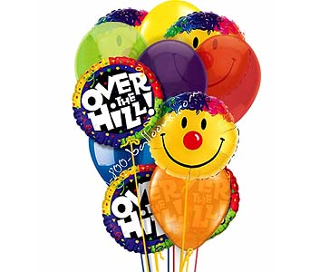 Over The Hill Smile Balloons by 1-800-balloons