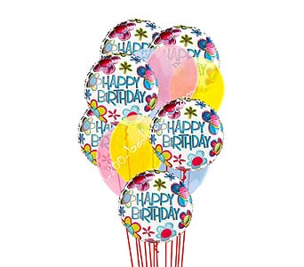 Birthday Sentiments Balloons by 1-800-balloons