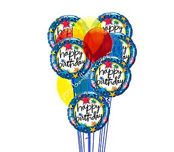 Star Spangled Birthday by 1-800-balloons