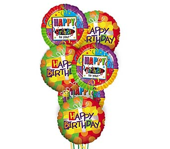 Happy Happy Birthday Balloons by 1-800-balloons