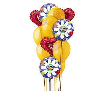 Get Well Sunshine by 1-800-balloons